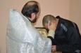 Таинство крещения, миропомазания и причастия прошло в ИК-7