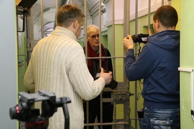 Известный артист Борис Щербаков приехал вОмск насъемки фильма обеспризорниках