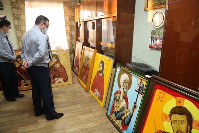 В УФСИН России по Омской области проведен конкурс церковной иконы