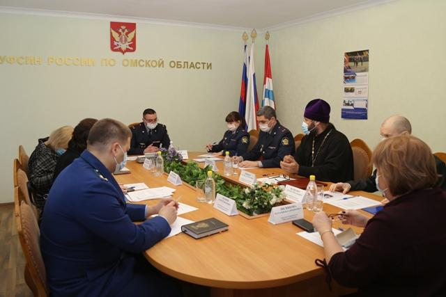 В УФСИН России по Омской области проведено совещание по вопросам соблюдения прав и законных интересов подозреваемых, обвиняемых и осужденных